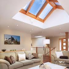 Natural Lighting Home Design Living Rooms With Skylights Offering Natural Light
