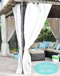 Patio Curtains Outdoor Outdoor Curtain Best Outdoor Curtains Ideas On Patio Curtains Deck
