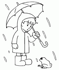 Rainy Day Coloring Pages For Kids 338671 Rainy Day Coloring Pages