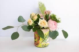 Vases For Floral Arrangements Recycled Can Flower Vase Diy Tinselbox