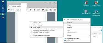 changer icone bureau résolu changer la d affichage windows 10 forums zebulon fr
