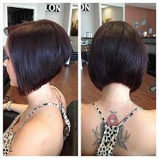 photos of the back of short angled bob haircuts short angled bob hairstyles back view best of stacked best short