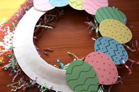 how to make an easter egg wreath create a and colorful easter egg wreath marin mommies