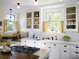 curtains for kitchen window kitchen dining buffet white casing