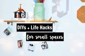 diy life hacks small spaces youtube