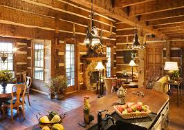 pictures of log home interiors lifeline interior hazelnut log home stain and perma stone