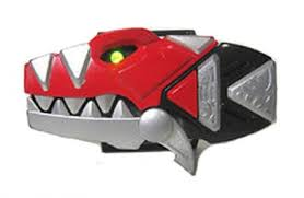 power rangers dino thunder cosplay prop red dino ranger morpher