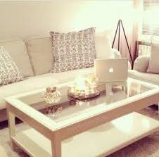 White Coffee Table White Glass Coffee Table Foter