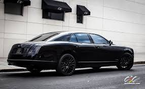 bentley blacked out bentley mulsanne