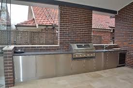 Custom Made Outdoor BBQ Kitchens Sydney - Outdoor bbq kitchen cabinets
