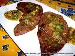 cuisiner coeur de boeuf cœur de bœuf tranches poêlé sauce persillée
