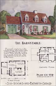 small cape cod house plans mid century cape cod style nationwide house plan service 1950s