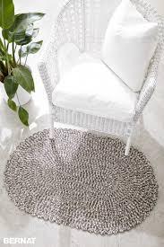 welcome home interiors bernat welcome home crochet rug crochet pattern yarnspirations
