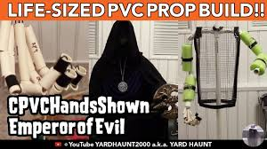 Pvc Pipe Halloween Props Life Size Halloween Pvc Prop Build How To Emperor Of Evil Youtube