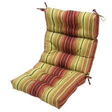 High Back Patio Chair by High Back Outdoor Chair Cushions Color Luxurious High Back