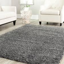 Cheap Area Rug Ideas Modern Solid Grey Fur Rug Ideas Popular Home Interior
