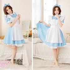 new alice in wonderland party cosplay costume anime sissy maid