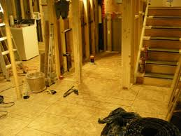 Basement Raised Floor by Basement Sub Floor Greg Maclellan