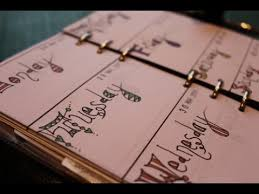 your own planner make your own planner diary pages