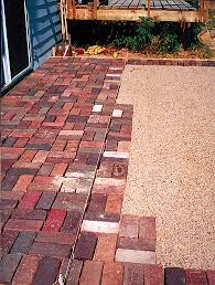 brick for patio brick patios patio design patio repair gergs construction