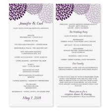 Printable Wedding Programs Free Wedding Program Templates Free Weddingclipart Com Wedding