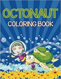 octonauts coloring book sea creatures edition speedy publishing