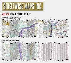 Map Of Metro In Rome by Streetwise Prague Map Laminated City Center Street Map Of Prague