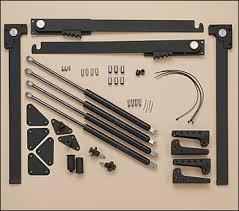 hiddenbed bed desk hardware kit lee valley tools
