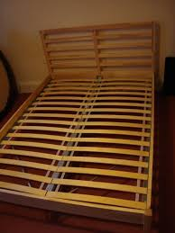Ikea Tarva Bed Ikea Tarva Bed Frame Plus Luroy Slatted Bed Base Double Bed In