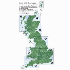 Map Scotland Survey Road Map 2 Western Scotland