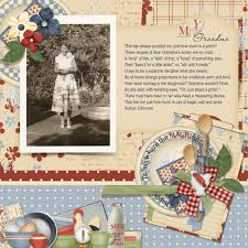 digital scrapbooking kit grandma u0027s kitchen collection biggie by