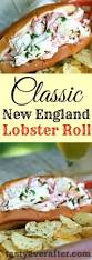 classic new england lobster roll tasty ever after all natural