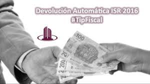 isr 2016 asalariados tipfiscal devolución automática isr pf 2016 youtube