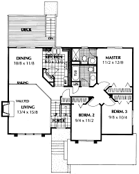 split level floor plan barton point split level home plan 015d 0147 house plans and more