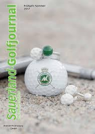 Poggenpohl K Hen Sauerland Golfjournal 2017 By Priotex Issuu