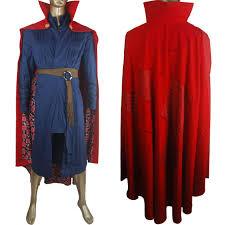 doctor halloween costume doctor strange uniform jacket cloak full set marvel movie