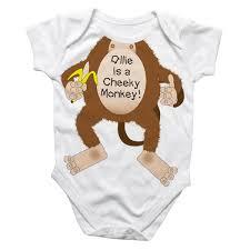 cheeky monkey baby grow kade pinterest monkey baby