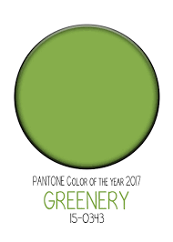 Color Of Year 2017 by Decorate With Pantone Color Of The Year 2017 Greenery Katanona