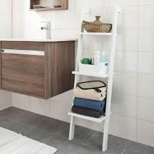 bathroom wall vanity towel ladder diy bathroom space savers wall