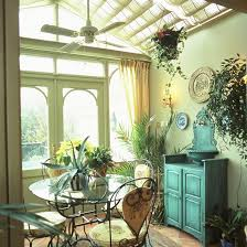 Quirky Home Decor Shabby Chic Sun Room Quirky Conservatory Traditional