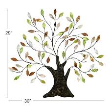 amazon com tree of life wall art decoration branch shells home