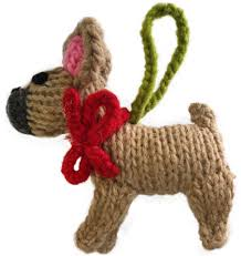 bull terrier ornament chilly sweaters