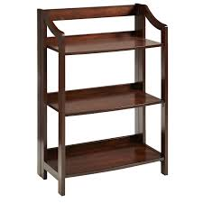 small table with shelves clifton tobacco brown low folding shelf pier 1 imports