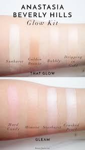 Where To Buy Anastasia Eyebrow Kit Anastasia Glow Kits Review U0026 Swatches