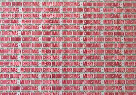 christmas gift wrapping supplies 2 sheets humour christmas gift wrap rude novelty