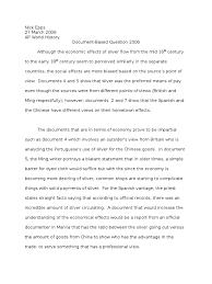 sample essay test us history essay examples ap us history essay examples