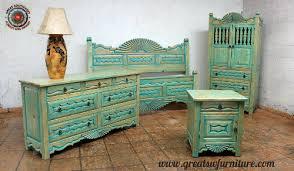 Turquoise Bedroom Furniture Southwest Bedroom Furniture Custom Beds Headboards Dresser