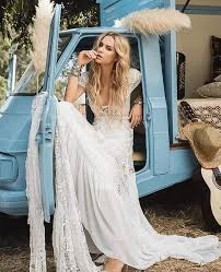 boho wedding dresses 61 striking bohemian wedding dress ideas to celebrate the