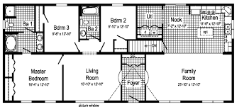 learn to interpret the listed dimensions of modular plans