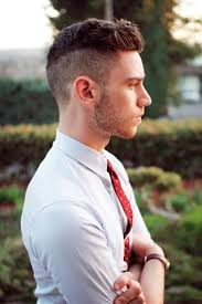 mens short hairstyles shaved sides top men haircuts